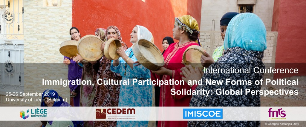 International Conference: Immigration, Cultural Participation and New Forms of Political Solidarity