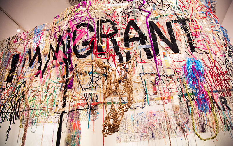 This new art exhibit wants to change the way you think about the Syrian refugee crisis